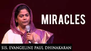 Miracles (English - Hindi) - Sis. Evangeline Paul Dhinakaran