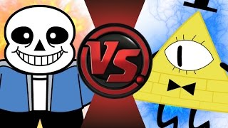 SANS vs BILL CIPHER! Cartoon Fight Club Episode 36