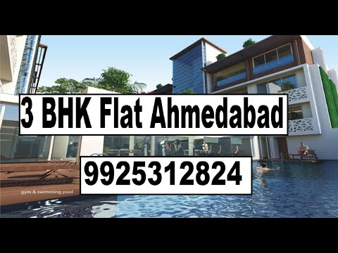 Maple County 3BHK Flat For Sale Thaltej Sindhu Bhavan Road Ahmedabad