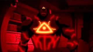 Young justice season 2 Volcano vs Blue bettle