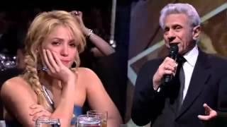 Shakira cries in the Latin Grammy / Shakira llora en los Latin Grammy