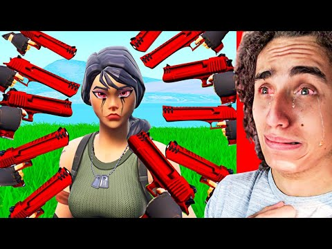 THE SADDEST FORTNITE TRY NOT TO CRY CHALLENGE