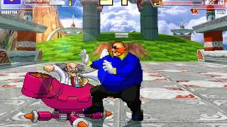 Random Mugen Battle- Robotnik vs. Wily