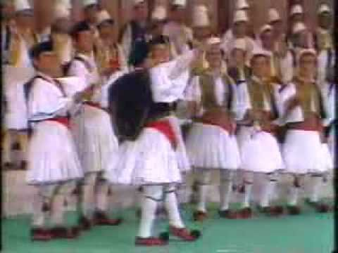 Albanian cham dance Valle çame