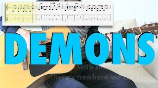 Imagine Dragons - Demons (fingerstyle cover, tab)