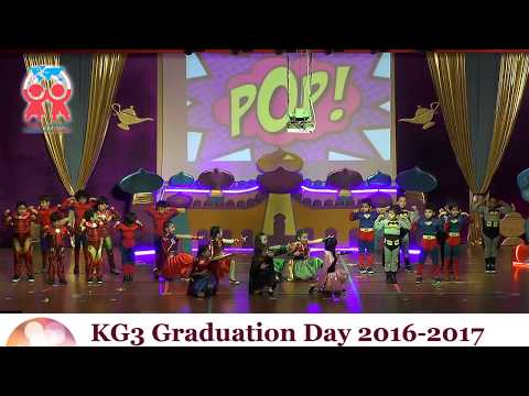 KG3 Graduation Day 2016-2017