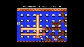 Bomberman 2 [NES] - Full Playthrough / Longplay