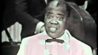 "Louis Armstrong sings ""Mack the Knife"""