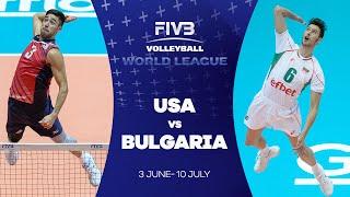 FIVB - World League: USA v Bulgaria highlights