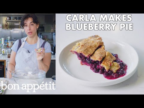 Carla Makes Blueberry Ginger Pie From the Test Kitchen Bon Appétit