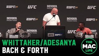 """Robert Whittaker to Israel Adesanya: """"I Don't Believe I've Been Talking That Much S***"""""""