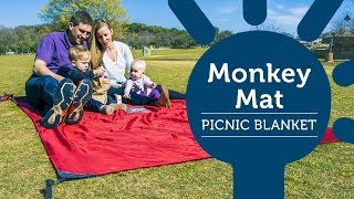 Watch the perfect Picnic Blanket that won't blow away