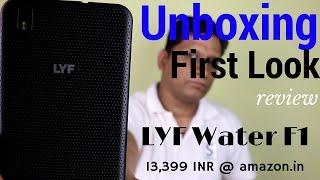 Hindi | Reliance Jio LYF Water F1 Unboxng & First Look | Sharmaji Technical
