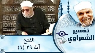 الشيخ الشعراوي | تفسير سورة الفتح، (آية ٢٩) الجزء ١