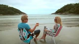 Casal Gaucho numa praia gaucha