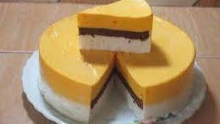 Resep Cara Membuat Cake Puding Busa / Cake Salju Mantap @Dafa TubeHD