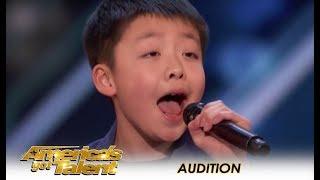 Jeffrey Li: Simon Cowell Promises A DOG To 12-Year-Old Child STAR!   America
