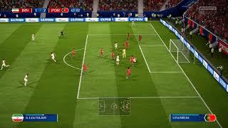 Fifa 18 world cup Portugal v Iran in 4k Ultra HD