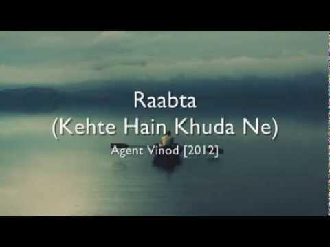 Xxx Mp4 Raabta Kehte Hain Khuda Ne Agent Vinod Hindi Lyrics English Translation 3gp Sex