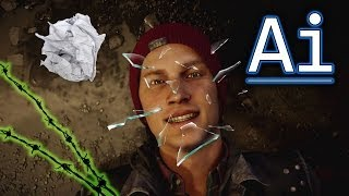 New Powers for inFamous: Second Son DLC - Paper, Glass & Wire?