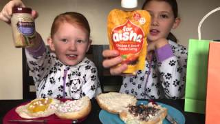 FAMILY FRIDAY CHALLENGE #3!! This week Isabelle and Esmé take on the SANDWICH CHALLENGE!!!
