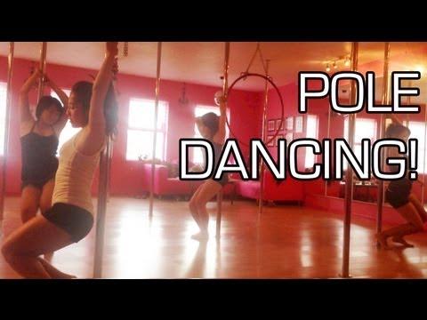 My Bachelorette Party Pole Dancing