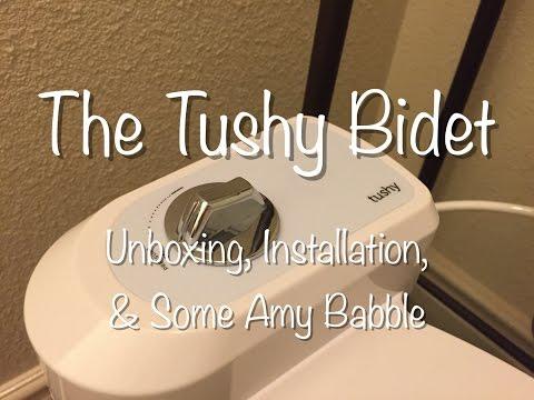 Tushy Bidet - Unboxing & Installation