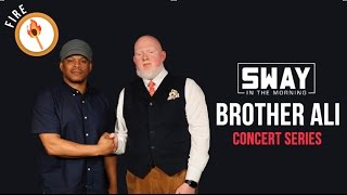 Brother Ali Speaks Truth + Spits Live in Sway in the Morning Concert Series