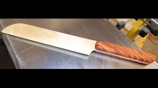 Maple, and Tulip wood Pastry/Cake Knife