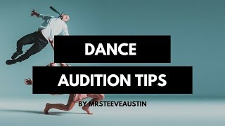 Dance audition tips