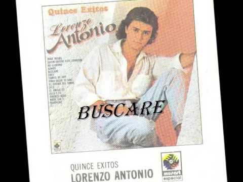 LORENZO ANTONIO 15 ÉXITOS 1990. Disco Completo