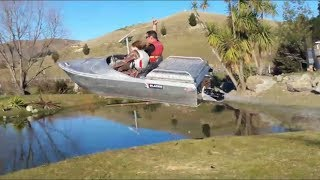 Jet Dinghy Muppetry in the mini jet boat