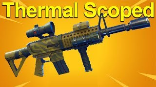 Thermal Scoped AR Breakdown