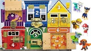 Best Learning Colors Video for Children - Paw Patrol Hidden Behind Doors