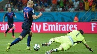 España 1 - 5 Holanda [Mundial Brasil 2014] HD