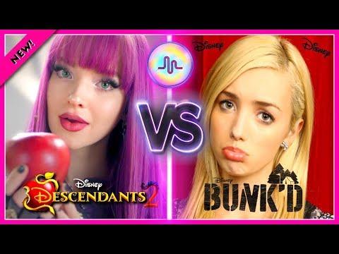 Xxx Mp4 Disney Descendants 2 VS Bunkd Musical Ly Battle Disney Stars Dove Cameron VS Peyton List Musically 3gp Sex