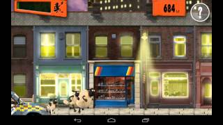 Shaun the Sheep - Shear Speed - бегущие овцы на Android (обзор / review)