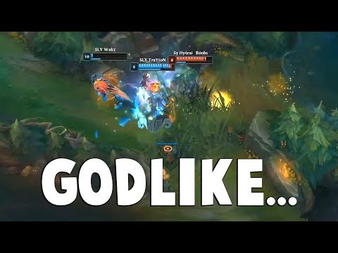 THE GODLIKE THRESH - Watch This Thresh Bodyguard His ADC Like A Boss...  | Funny LoL Series #456