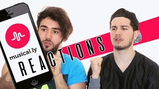 Reactions to Musical.ly | İlk Defa Musical.ly Denedik!! | 2Pals1Blog