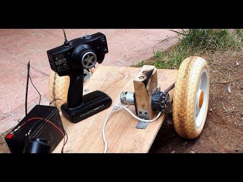 Xxx Mp4 AMAZING IDEA For Drill Motor Old Video Big RC Car Servo Çocuk Arabası 3gp Sex