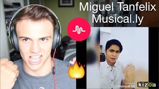 Miguel Tanfelix Musical.ly Compilation Reaction