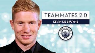 Which Man City player has HORRIBLE dress sense?   Kevin De Bruyne   Teammates 2.0