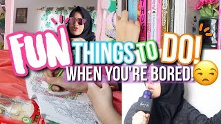 FUN THINGS TO DO WHEN YOU'RE BORED! ♡ WHAT TO DO WHEN BORED! - Indonesia