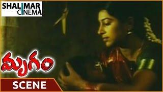Mrugam Movie || Aadhi Pinisetty Slapping His Wife Scene|| Aadhi Pinisetty || Shalimarcinema