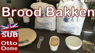 Brood bakken met broodbakmachine Panasonic SD-207