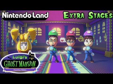 Nintendo Land Co op Luigi s Ghost Mansion Extra Stages