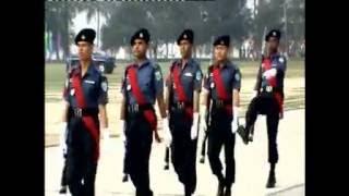 TRC 151th Batch Passing Out Parade, Sarda, Rajshai, Bangladesh Police