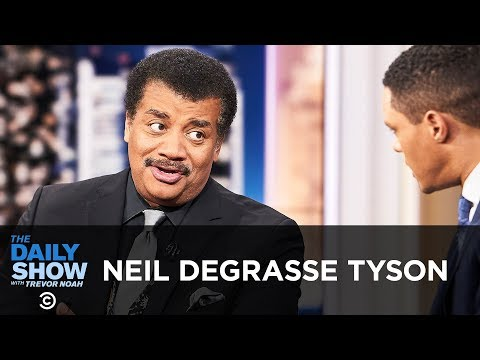 """Neil deGrasse Tyson """"Accessory to War"""" & Arming Society with Knowledge The Daily Show"""