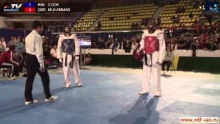 COOK AARON ( IMN) - MUHAMMAD LUTALO (GBR) 80 kg Final