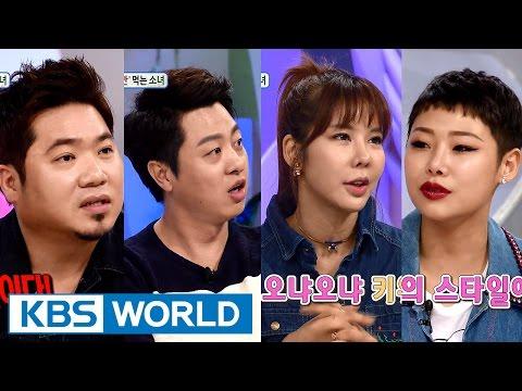 Hello Counselor - Kim Johan, Yoo Sangmoo, Kim Junhee & Cheetah (2016.03.28)